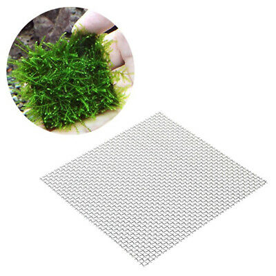 Moss DIY Water Plants Fixation Aquarium Supplies Mesh Plate Stainless Steel