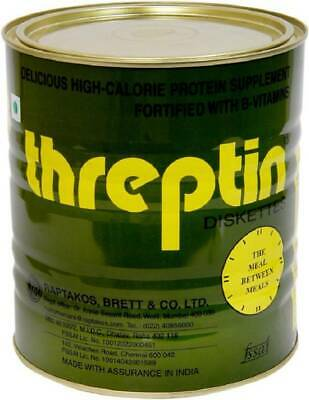 Threptin Diskettes High-Calorie - 1 kg free Protein Supplement  Free Ship
