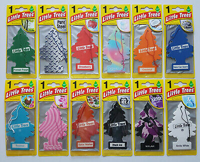12 x Magic Tree Little Tree Hanging Air Freshener Freshner Car Assorted Bundle A