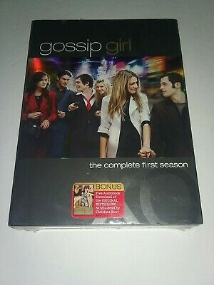 NEW - GOSSIP GIRL - The Complete FIRST Season 1 ONE - DVD Set
