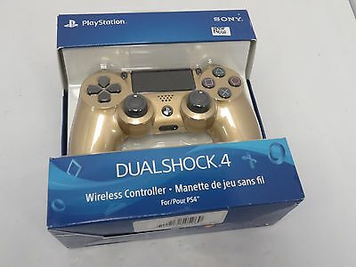 Sony PlayStation 4 Dualshock 4 PS4 Wireless Controller Gold