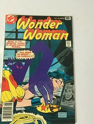 DC Comics Wonder Woman #246 AUG 1978