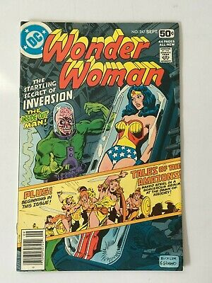DC Comics Wonder Woman #247 SEPT 1978
