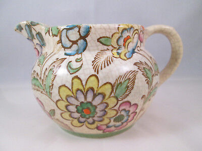 An Old Decorative Ceramic Jug with Lots of Character