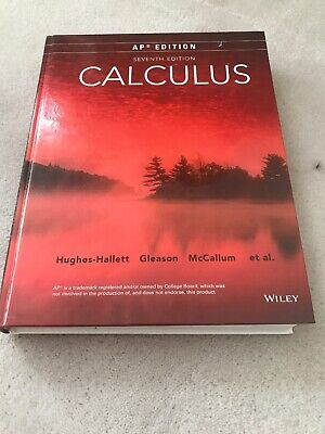 CALCULUS SINGLE VARIABLE 7th Edition by Hughes-Hallett