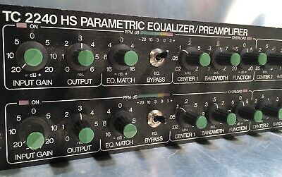 TC ELECTRONIC 2240 HS 4-Band parametrischer stereo EQ und Preamp