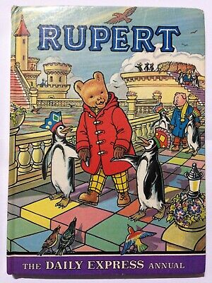 Daily Express Rupert The Bear Annual 1977. Good Condition.
