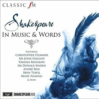 Shakespeare In Music & Words 2016 2-Cd New/sealed