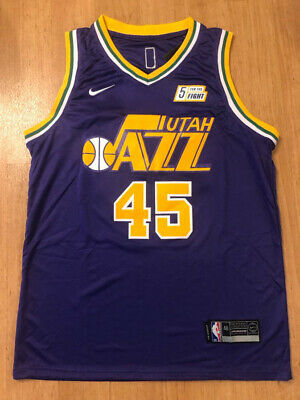 886d515ad77 NWT Donovan Mitchell  45 Purple Utah Jazz Stitched Men s Jersey Brand New