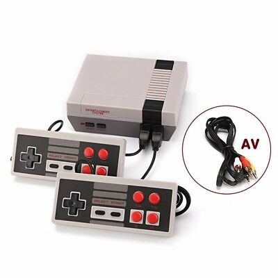Mini Retro Console Classic 620 Nintendo Built-in games 2 Controller Kid gift
