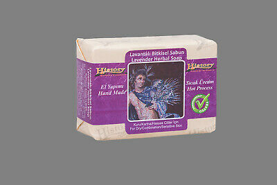 Handmade Turkish Hamam Soap Lavender 100g (for Dry/Combination/Sensitive Skin)