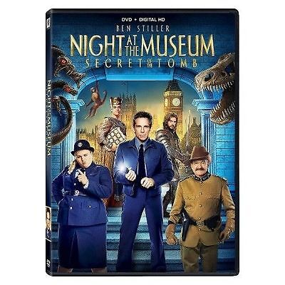 Night at the Museum 3: Secret of the Tomb (DVD, 2015) - NEW!!
