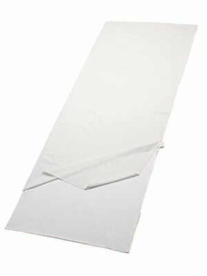 Ferrino SLEEPINGBAG LENZUOLO Travel SQ Saco de Dormir (Única|Blanco (white))