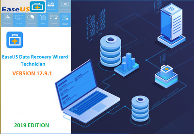 Easeus Data Recovery Wizard 12.8 Pro  Genuine License Upgrade For Life