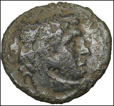 Ptolemaic Ptolemy ancient Greek Bronze coins Old coin Authentic Herakles Eagle