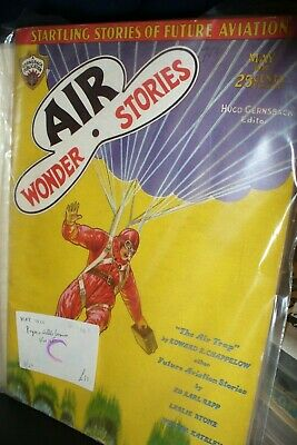 Air Wonder Stories Us Pulp Magazine May 1930