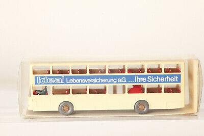 Furniture Hübner Pop Advertising Bus Man Sd 200 Detailed From Wiking H0 1:87 Cars Automotive