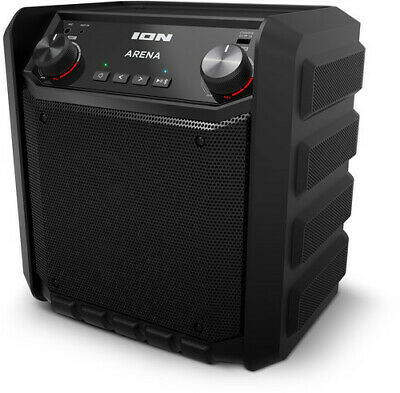 ION iPA80L Arena Bluetooth Tailgate Speaker System PortableRechargeable PA 50 Wa