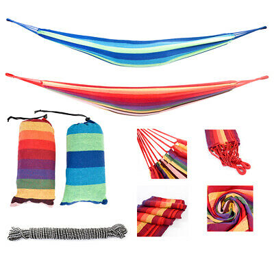 """78"""" x 31""""Portable Hammock Outdoor Camping Adventure Portable Beach Swing Bed New"""