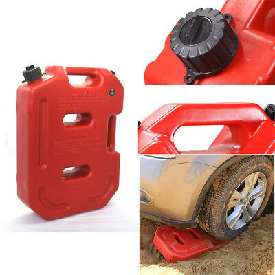 Portable 10L Jerry Can Diesel Oil Fuel Tank for  ATV Car Motorcycle Truck Pickup