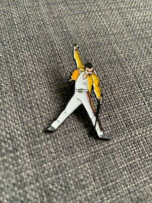 Freddie Mercury Enamel Queen Pin Badge Brooch Rock Metal Pins Backpack Bags Hat