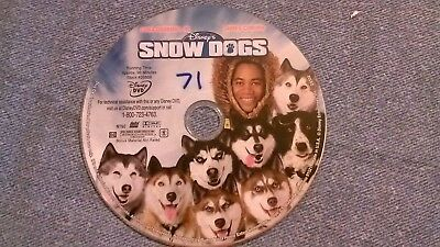 Snow Dogs (2002 DVD) Cuba Gooding Jr., James Coburn, N Nichols DISC ONLY Disney