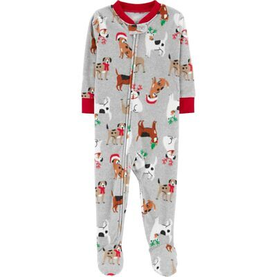 0f784545925c CARTERS NWT 6 12 18 24 Month 2T 3T 4T 5T Footed Fleece Pajama Baby ...