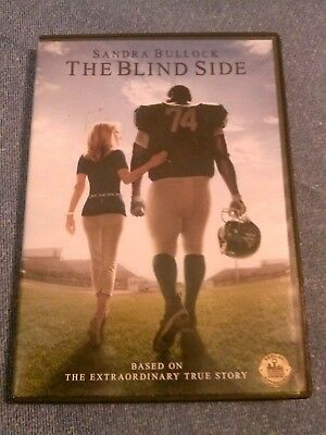 The Blind Side, 2009 DVD, Sandra Bullock, Tim McGraw, Kathy Bates, Quinton Aaron