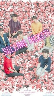 Concert Ticket to BTS: LY Speak Yourself MetLife New Jersey Section 118 Row 4