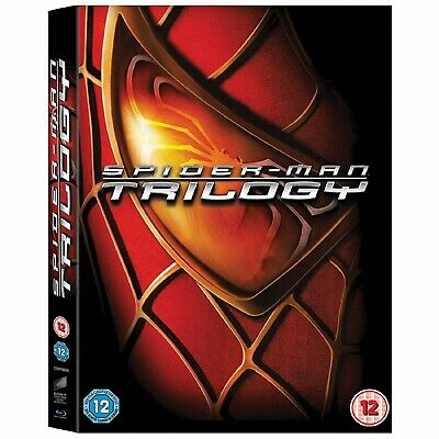 BRAND NEW! Spider-Man Trilogy (Blu-ray Disc, 2012, 3-Disc Set)