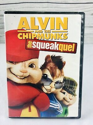 Alvin and the Chipmunks: The Squeakquel~DVD