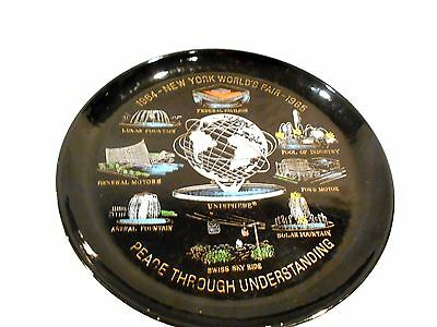 "1964 New York World's Fair 10 1/2"" Tray made by US Steel-Unisphere Souvenir"