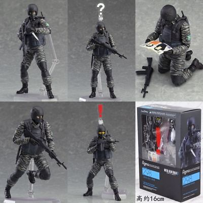 Figma 298 Metal Gear Solid 2 Sons of Liberty Gurlukovich Solider Action Figure