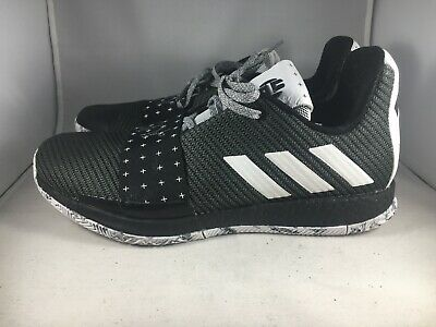 dbe5b8fe2d79 ADIDAS HARDEN VOLUME Vol 3 Basketball Boost BB7723 Black White Grey ...