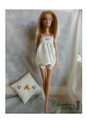 Barbie doll lace Pyjamas (MADE IN PERTH)