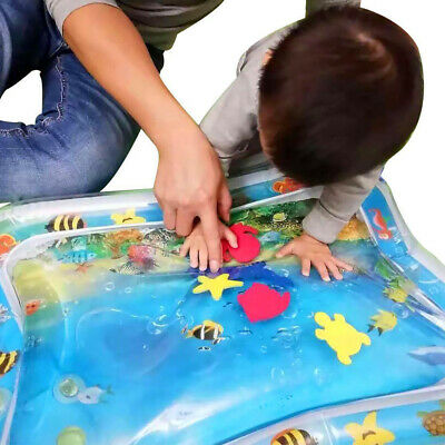 Inflatable Patted Mat Water Cushion Sensory Stimulation Baby Early Education LOT