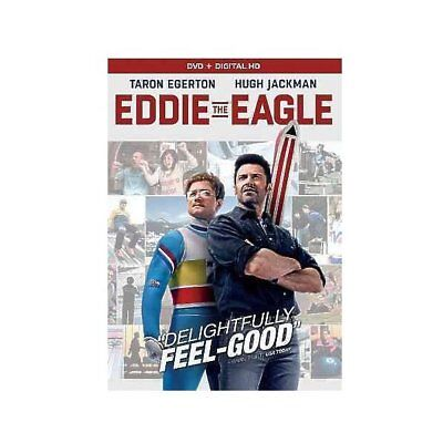 Eddie The Eagle,Very Good DVD, Hugh Jackman, Taron Egerton, Dexter Fletcher