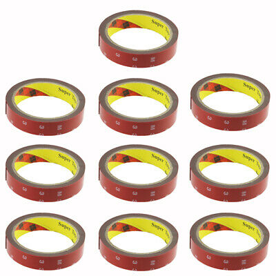 Lot10 3M 300LSE Double Sided Super Sticky Adhesive Tape 5952 Automotive Mounting