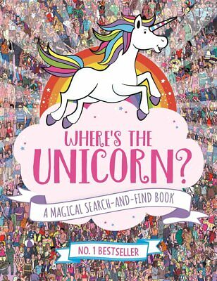 Sophie Schrey Where's the Unicorn? A Magical Search & Find Activity Book Pb New