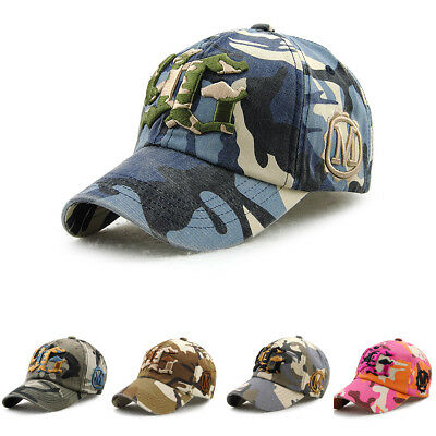 8bb65328115 Unisex Army Camouflage Military Camo letters Soldier Hunting Hat Baseball  Cap
