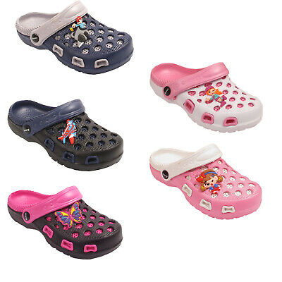 Kids Unisex Boys Girls Garden Clogs Shoes Sandals Mules Size UK 11 12 13 1 2 3