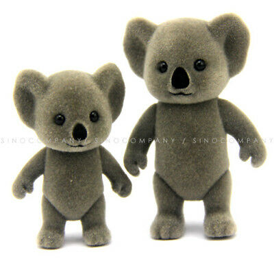 Lot 2PCS Sylvanian Families Koala Family Mom & Baby figure Baby Cute doll toy