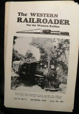 Western Railroader #358 1969 BART to initiate test program this spring, White Pa