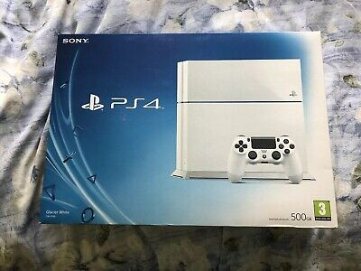 Empty Box & Instructions - Sony Playstation 4 PS4 500GB White