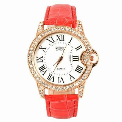 Hot Fashion Practical 6 Colors Adjustable Synthetic Leather Strap Women WST 01