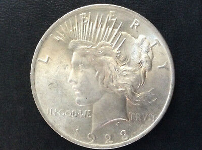 1923-P Peace Silver Dollar Brilliant Uncirculated U.S. Coin A2909