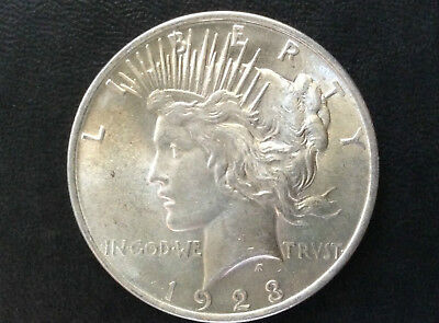 1923-P Peace Silver Dollar Brilliant Uncirculated U.S. Coin A2908