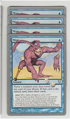 *CCGHouse* Magic Unhinged Mise X4 NM MTG
