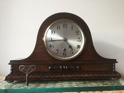 Antique Haller & Benzing DRGM 8 Day Westminster Chime Clock Serviced/New Springs