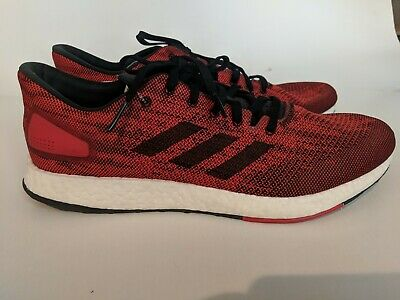 newest 626fa f01c4 Adidas PureBoost Size 13 DPR Men Running Training Shoes Red Pure Boost -  BB6294